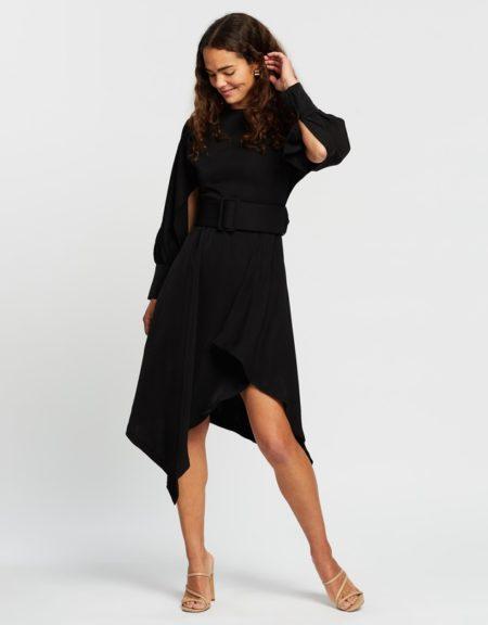 Mossman Last Dance Dress Black