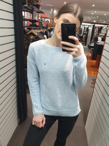TH Hayana Boat Neck Knit Sweater