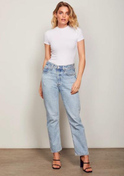 Wish Holli C-Neck T-shirt White