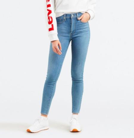 Levi's Mile High Super Skinny Jeans Math Club