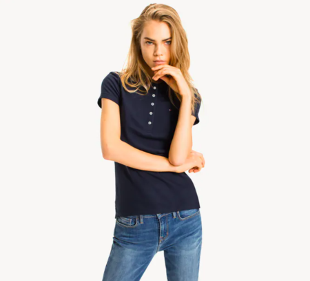 TH Slim Polo Shirt Core Navy