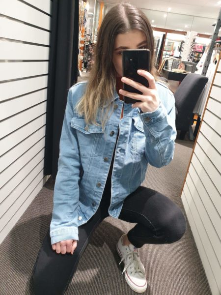 Macy Oversized Denim Jacket