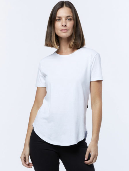 Casa Amuk Saddle Hem Tee White