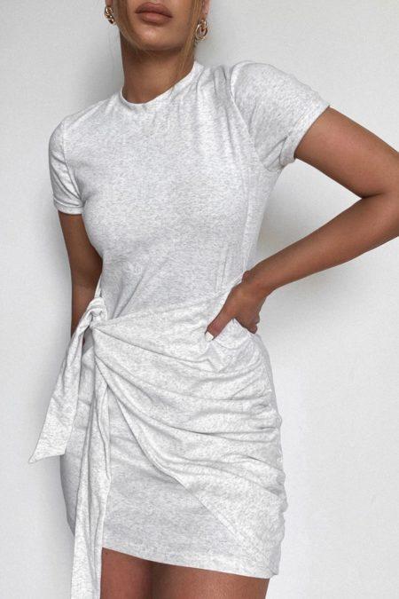 Winnie Shirt Dress Snow Marle