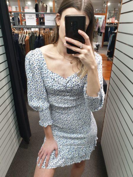Frankie Shirred Dress
