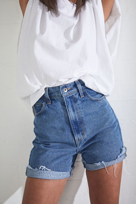 Bardot Lea Denim Shorts