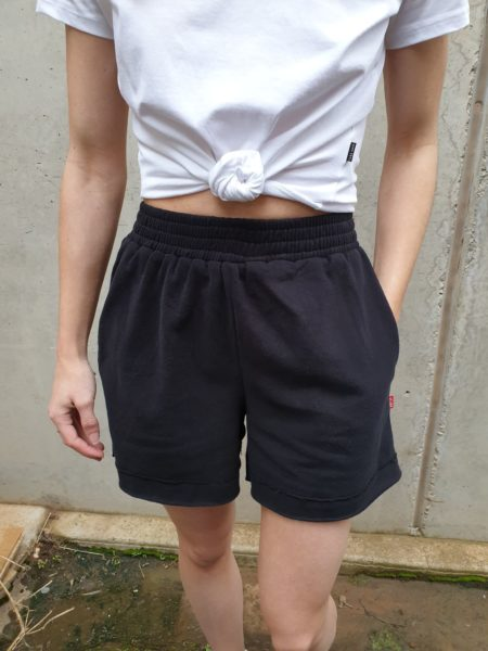 Bayse Lounge Shorts Black