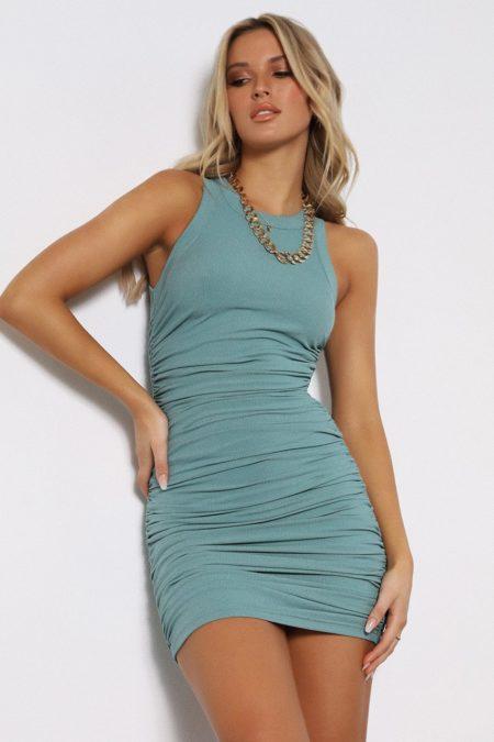 Essential Dress Teal