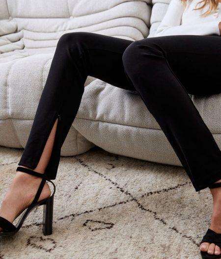 Bardot Ponti Ankle Zip Pant