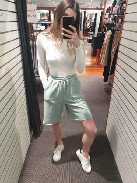 Boyfriend Lounge Short Sage