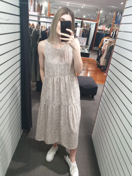 Alethea Dress Nude