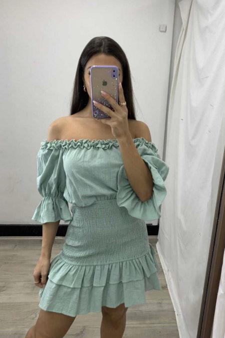 Keisha Dress Sage