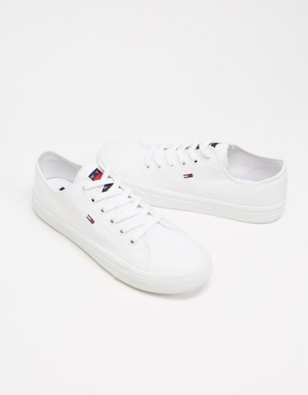 TH Long Lace Up Vulc Trainers