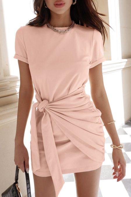 Winnie Shirt Dress Pink