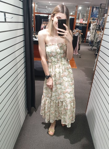 Orla Dress Peach